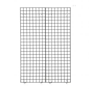 Perfect Metal Grid wall for all Retail Displays By Econoco