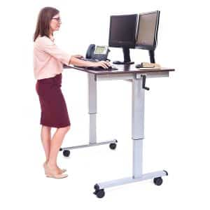 LUXOR Stand Up, Standup-CF48-DW Desk