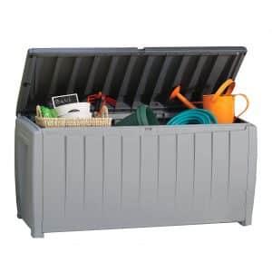 Keter Novel 90-Gallon Patio Storage Box