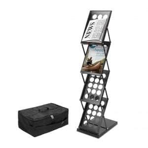 Voilamart Portable Pop-up Folding Display Literature Holder