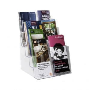 Clear-Ad - LHF-S84 – Literature Rack