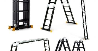 Superworth-Boutique Multi-Purpose Aluminum Step Ladder