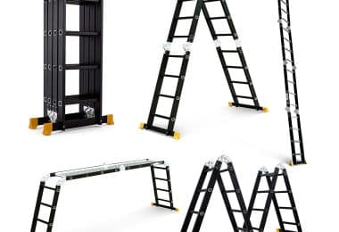 Superworth-Boutique Multi-Purpose Aluminum Step Ladder