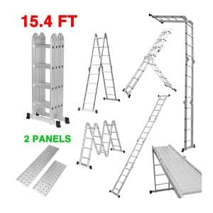 Aluminum Telescoping Ladder Telescopic Extension Ladder