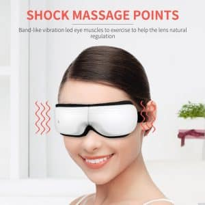 Bromose Eye Massager USB Electric Music