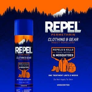 Repel Permethrin 6.5-Ounce Clothing Mosquito Repellent Aerosol