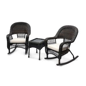 Sol Siesta Outdoor Rocking Chair Set