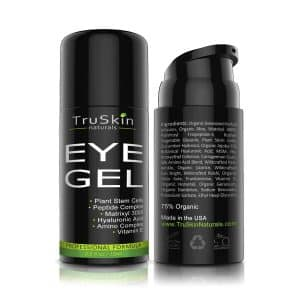 TruSkin Naturals Best Eye Gel for Wrinkles and Fine Lines