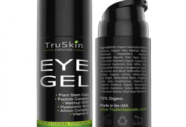 TruSkin Naturals Best Eye Gel for Wrinkles and Fine Lines
