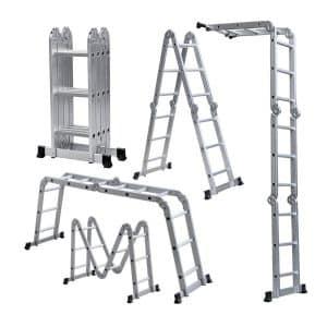 Lightweight 12' Aluminum multipurpose Ladder