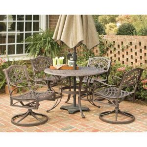 Home Styles Brand Biscayne Five Piece Outdoor Dining Set