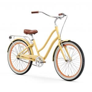 Sixthreezero EVRYjourney Women's 26 inch Step Through Hybrid Cruiser bycicle