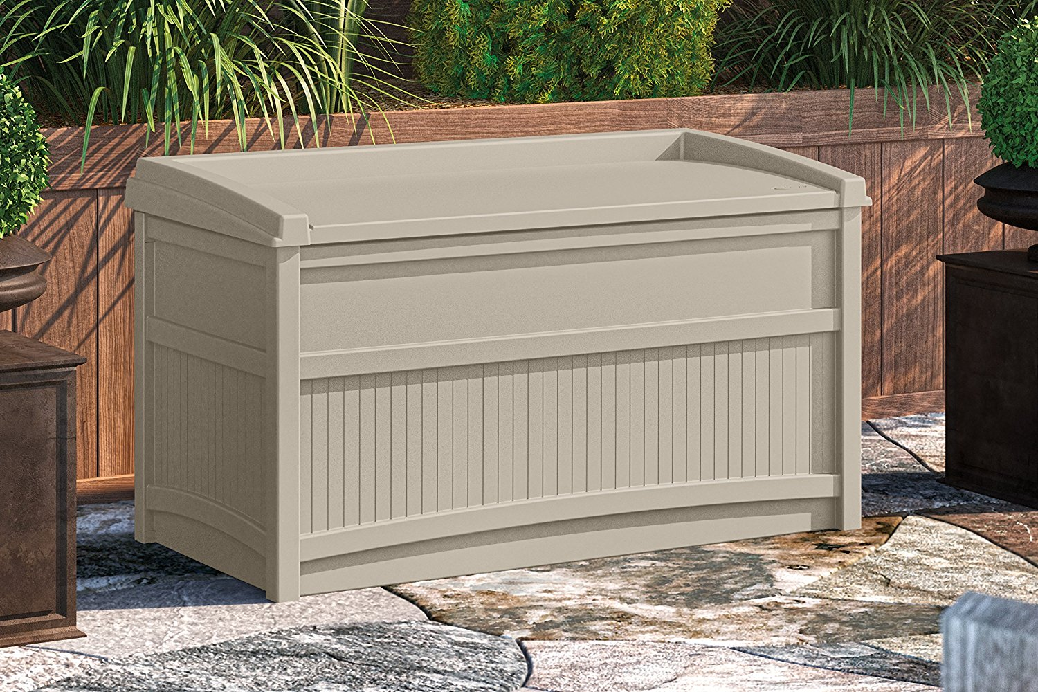 fresh storage box awesome bench black photograph of outdoor patio walmart