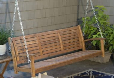 Coral Coast Porch Swing