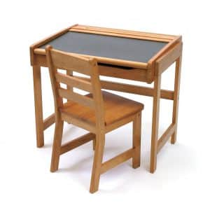 Lipper International 554P Child's Chalkboard Desk and Chair