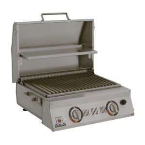 Solaire SOL-AA23A-LP Stainless Steel Double Burner Propane Gas Grill