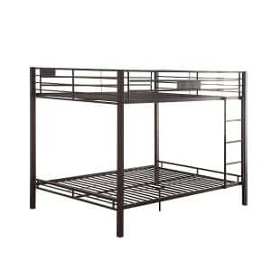 ACME Kaleb Sandy Black Queen Bunk Bed