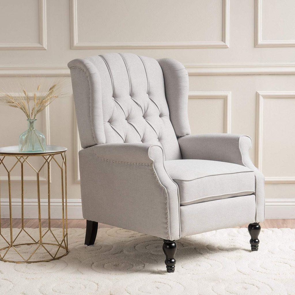 GDF Studio Elizabeth Tufted Arm Chair Recliner