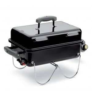Weber 1141001 ONE Size Go-Anywhere Gas Grill, Black