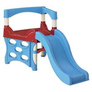 American Plastic Climber & Slide, Blue