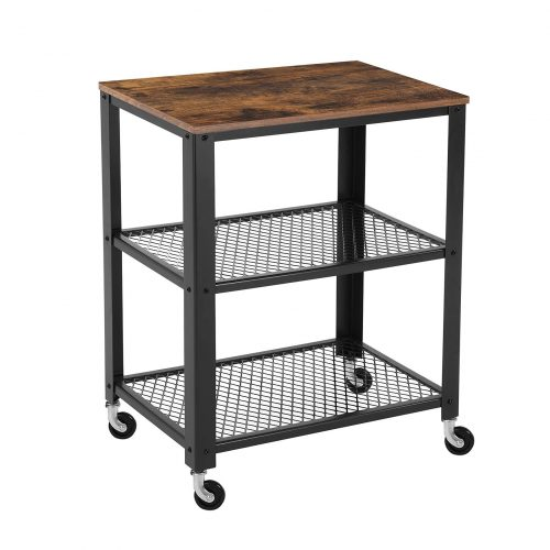 SONGMICS Vintage Serving Cart