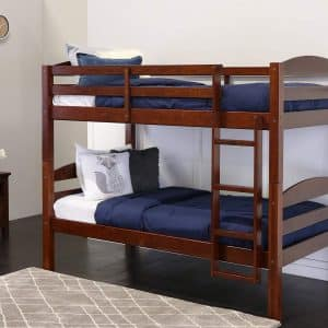 Walker Edison AZWSTOTES Wesley Twin over Bed