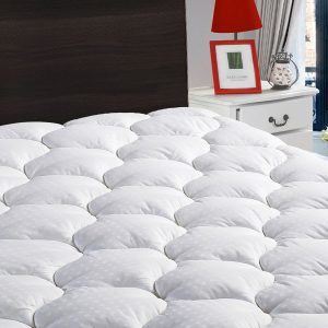 LEISURE TOWN Queen Overfilled Mattress Pad Cover