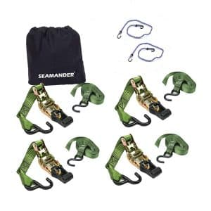 Seamander ratchet tie down strap