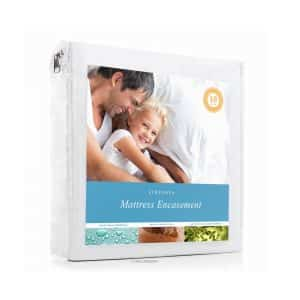 Linenspa Zipper Encasement Waterproof Breathable Mattress Protector