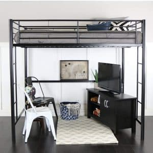 We Furniture Brand Metal Loft Bed