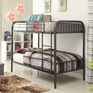 ACME Furniture Bristol Gunmetal Full Bunk Bed