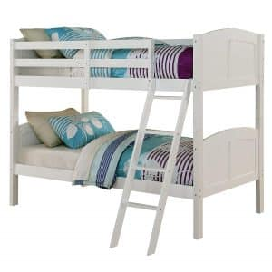 Angel Line Creston Twin Bunk Bed