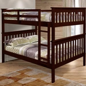 F/F Mission Bunk Bed