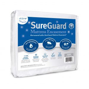 SureGuard Mattress Protectors Queen Encasement