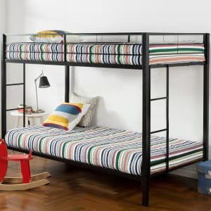 Zinus Quick Lock Twin Classic Metal Bunk