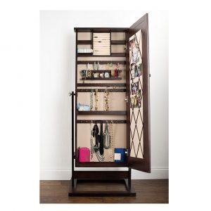 Hives & Honey Ella Espresso Jewelry Cabinet