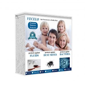 Vecelo Hypoallergenic Waterproof Mattress Protector