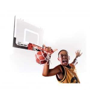 "SKLZ Pro Mini Basketball Hoop W/Ball. 23""x16"" Shatter Resistant Backboard"