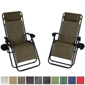 Sunnydaze Zero Gravity Lounge Chair