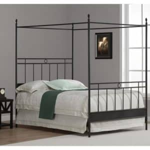 Full Metal Canopy Bed