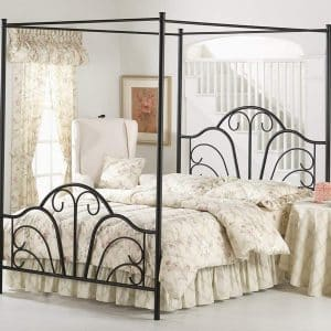 Hillsdale Furniture 348BKPR Dover Canopy Bed