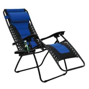 Phi Villa Padded Zero Gravity Lounge Chair