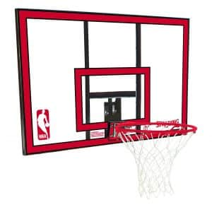 Spalding Polycarbonate Rim Combo Basketball Backboard