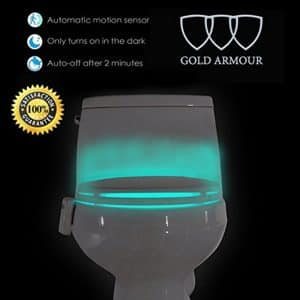 Gold Armour 16-Color Motion Sensor LED Toilet Night Light