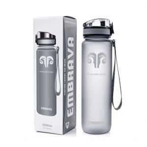 Embrava 32oz Large Sports Water Bottle