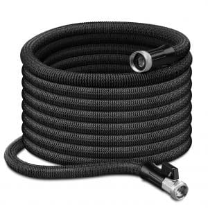 GrLeaf 100FT Expandable Garden Hose with Double Latex Core