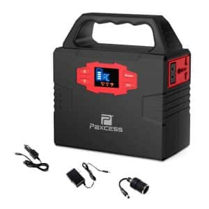 Paxcess 151W 40800mAh Generator Charged by Solar Panel