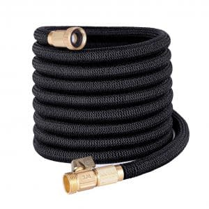 YEAHBEER 50-feet Garden Hose, Lightweight and Durable, Double Latex Core