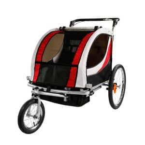 Clevr 2-in-1 Collapsible Baby Bike Stroller
