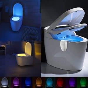 Maxzola Rechargeable Toilet Light with Waterproof